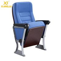 Wholesale ABS Armrest Strong Aluminum Base Auditorium Chair With Writing Pad from china suppliers