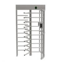 Wholesale Semi Automatic Controlled Access Turnstiles , Low Noise Security Turnstile Gate from china suppliers