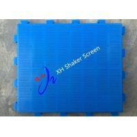 Buy cheap Polyurethane Rubber Polyurethane Vibrating Screen for Mining Orange Or Blue from wholesalers