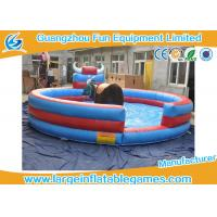 Quality Colorful 0.55mmPVC Mechanical Inflatable Bull Riding For Sport Games for sale