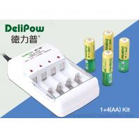 Wholesale Compact Design 1000mAh Rechargeable Battery Kit Nimh 4 AA Delipow from china suppliers