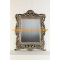 Wholesale Antique style with handmade gold leaf finish wood frame wall mirror from china suppliers