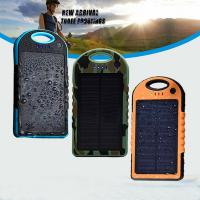 Wholesale 2014 Hot selling ! New style 12000mAh portable waterproof solar charger for Iphone 6 from china suppliers