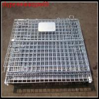 Wholesale wire mesh container /steel cages for storage/1200x1000x1000mm metal storage cage with wheels /mesh security cages from china suppliers