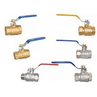 Wholesale Brass full port  ball valves from china suppliers