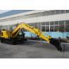 Buy cheap Heavy Equipment Excavator Swing Speed 11RPM , Long Reach Excavators from wholesalers