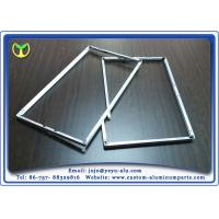 Wholesale One Time Bending Forming machined aluminum TV Frame Profiles Silver Anodizing from china suppliers