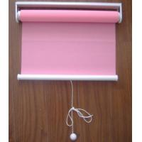 Wholesale spring 100% polyester fabric roller blinds for windows with aluminum headrail and toprail from china suppliers