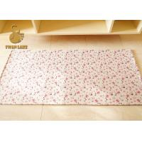 Wholesale Outdoor Decorative Heat Transfer Rug , 3d Fire Resistant Mat Multi Colors from china suppliers