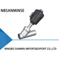 Wholesale High Temperature Pneumatic Angle Seat Valve Normally Closed Long Life Cycle PV300 from china suppliers