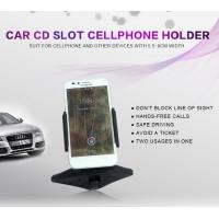 Wholesale Universal Car Cellphone Holder , Cell Phone Cup Holder Car Mount With Clip from china suppliers