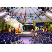 Wholesale Aluminum Commercial  Party Tent  Wind - Resistant With Beautiful Decoration from china suppliers