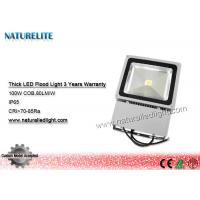 Quality Epistar Waterproof 100W Led Flood Light IP65 COB 85 - 265VAC For Factory Workshops for sale
