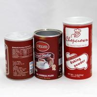 Wholesale Eco-friendly Water-proof Cylindrical Paper Tube Packaging for Baking Powder , Nutrition Powder from china suppliers