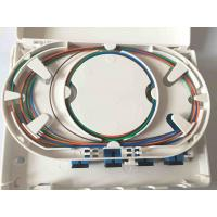 Wholesale Easy Installation Fiber Optic Termination Box , Waterproof 4 Cores FTTH Distribution Box from china suppliers