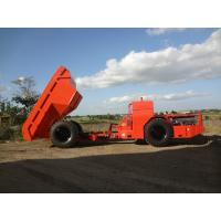 Quality Orange 12 Tons Underground Mining Truck , Gold Mining Drilling Equipment for sale
