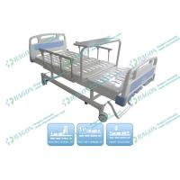 Wholesale Luxurious wheels with brake Manual rotating hospital bed with three Function from china suppliers