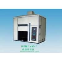 Wholesale Electric Wire Flame Test Chamber 1000Ml / M Flow Range For Finished Wire / Cord from china suppliers