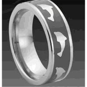 fashion jewelry tungsten ring