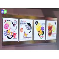 Wholesale Magnetic Crystal LED Light Box , Wall Mounted Lightbox With Aluminum Frame from china suppliers