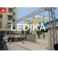 Wholesale 6082 T6 Aluminium Goal Posts Led Screen / Background Cloth Stand Truss System TUV from china suppliers