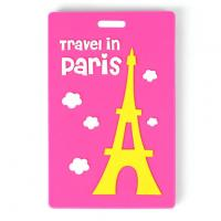 Wholesale Cheapest 3D pvc custom handbag tag from china suppliers