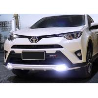 Wholesale TOYOTA 2016 RAV4 Plastic Front Bumper Guard With LED Light And Rear Guard from china suppliers