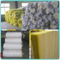Buy cheap Glass wool blanket roll and board pipe with Fireproof aluminum foil from wholesalers
