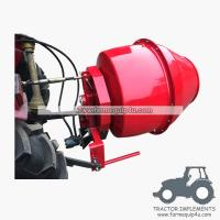 Wholesale 5HCM - 3 point hitch mounted hydraulic motor driven Cement Mixer Concrete mixer from china suppliers