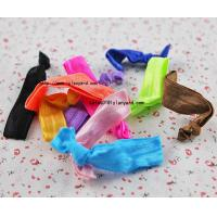 Wholesale Wholesale Unisex Knotted Velvet Elastic Glitter Hair Band from china suppliers