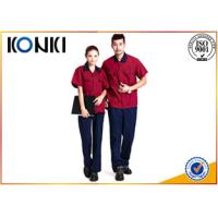 Wholesale Durable Custom Professional Work Uniforms in red color for engineers from china suppliers