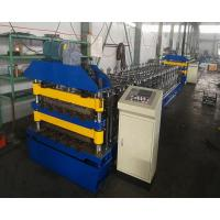 Buy cheap Non Stop Cutting Aluminium Roofing Sheet Roll Forming Machine 380V from wholesalers