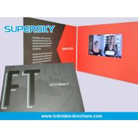 Wholesale Pocket  Size Paper Craft LCD Video Brochure With Usb , LCD Video Business Cards from china suppliers
