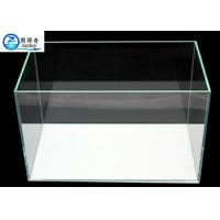 Wholesale 3mm - 19mm Custom Fish Tanks , Tranparent Glass Aquarium Fish Tank from china suppliers