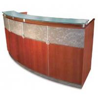 Wholesale stylish with cheap price salon solid surface reception desk from china suppliers