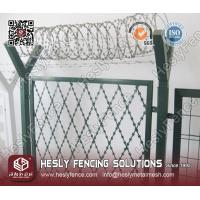 Wholesale HESLY Rhombus Welded Razor Wire Fence from china suppliers