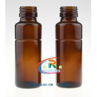 Quality 90ml amber medicine glass bottle for syrup for sale