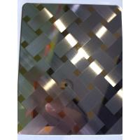 Wholesale China manufacturer 3D combination craft mirror hairline stainless steel sheets in foshan from china suppliers