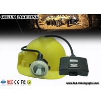 Wholesale High Power 10000 Lux Superbirght Led Miners Lights / Mining Hard Hat Lights Light Weight from china suppliers
