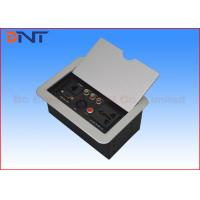 Wholesale Panel Cover Tabletop Flip Up Power Outlet Box Aluminum Alloy For Office Furniture from china suppliers