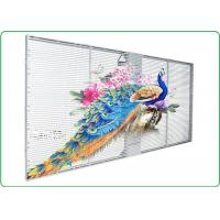 Buy cheap P10 Indoor Advertising Led Display Transparent Led Panel with Remarkable Visual from wholesalers