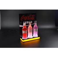 Wholesale new style acrylic led wine bottle display racks from china suppliers