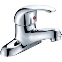 Wholesale Chrome Polished Two Hole Bathroom tap for Ceramic Basin , Single Lever from china suppliers