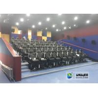 Wholesale Fast Return 5D Theater With Genuine Leather Electric 5D Seats In Business Center from china suppliers