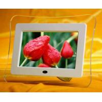 Wholesale TFT 7 inch Digital Photo Frame DC 9V / 1.0A USB2.0 AV out   MPEG1  MPEG2 from china suppliers