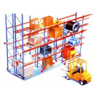 Wholesale High density heavy weight selective pallet rack , customized longspan shelving from china suppliers