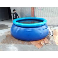 Wholesale Safe Round Inflatable Swimming Pools , Deep Inflatable Water Pool from china suppliers