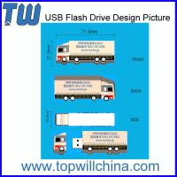Wholesale Unique Company Design Custom PVC USB Flashdrive 2GB 4GB 8GB 16GB 32GB Capacity from china suppliers