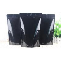 Wholesale All Black Laminated 3 Layers Foil Packaging Bags Customized Moisture Proof from china suppliers