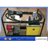 Wholesale High Pressure 80MPa Portable Hydraulic Pump Station with Gasoline engine from china suppliers
